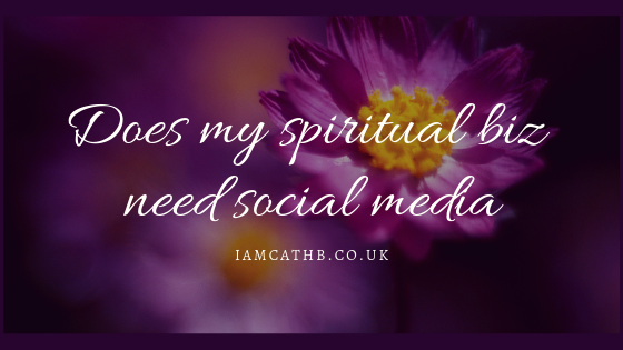 Does my spiritual business need social media