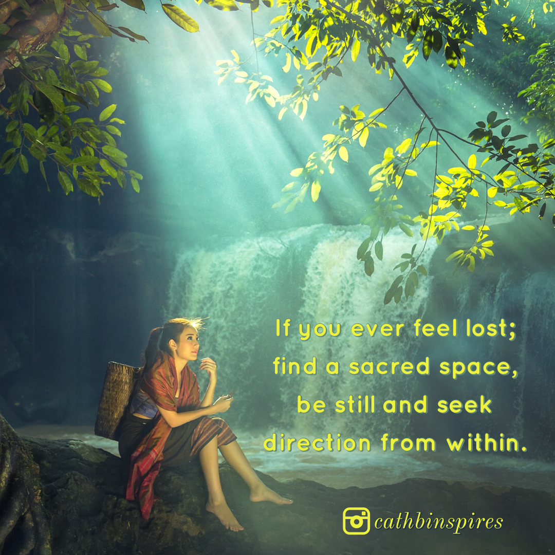 Find a sacred space