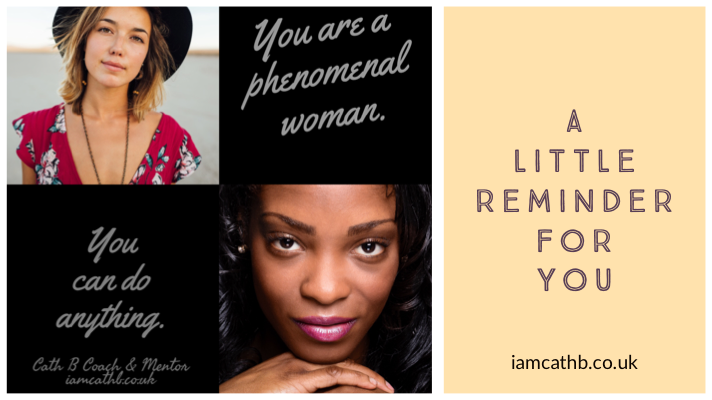 You are a phenomenal woman